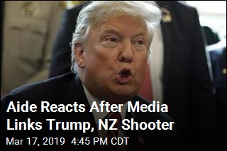 Aide: It's 'Absurd' to Link NZ Shooter With Trump