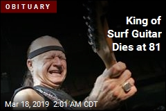 King of Surf Guitar Dies at 81