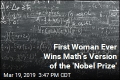 First Woman Ever Wins Math's Version of the 'Nobel Prize'