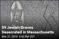59 Jewish Graves Desecrated in Massachusetts
