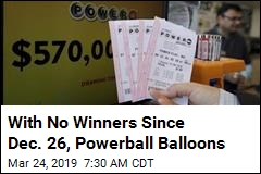 With No Winners Since Dec. 26, Powerball Balloons