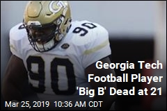 Georgia Tech Football Player 'Big B' Dead at 21