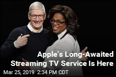 Apple's Long-Awaited Streaming TV Service Is Here