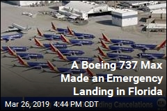 A Boeing 737 Max Made an Emergency Landing in Florida