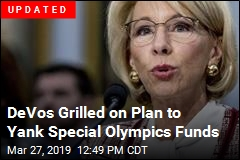 DeVos Wants to Yank Funding for 'Awesome' Special Olympics