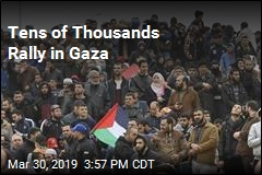 Tens of Thousands Rally in Gaza