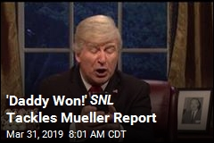 'Daddy Won!' SNL Tackles Mueller Report