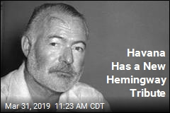 Havana Has a New Hemingway Tribute