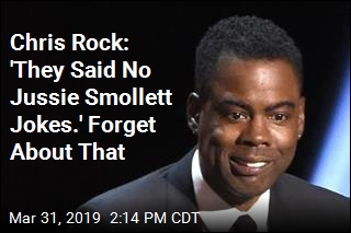 Chris Rock: 'They Said No Jussie Smollett Jokes.' Forget About That