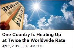 One Country Is Heating Up at Twice the Worldwide Rate