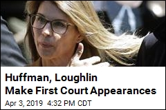 Huffman, Loughlin Make First Court Appearances
