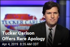 Tucker Carlson Offers Rare Apology