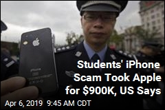 Students' iPhone Scam Took Apple for $900K, US Says