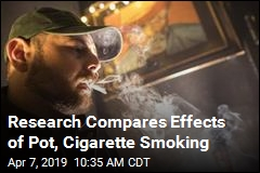 Research Compares Effects of Pot, Cigarette Smoking
