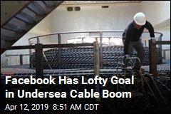 Facebook Has Lofty Goal in Undersea Cable Boom