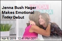 Jenna Bush Hager Makes Her Debut as Today Co-Host