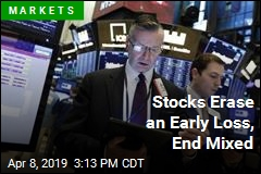 Stocks Erase an Early Loss, End Mixed