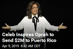 Puerto Rico Has a New Friend in Oprah