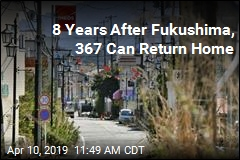 8 Years After Fukushima, 367 Can Return Home