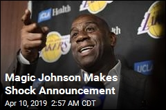 Magic Johnson Abruptly Resigns as Lakers President