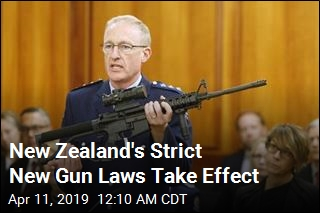 New Zealand's Strict New Gun Laws Take Effect