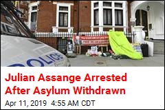 Julian Assange Arrested After Asylum Withdrawn