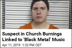 Arson Suspect Linked to 'Black Metal' Music