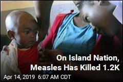 On Island Nation, Measles Has Killed 1.2K