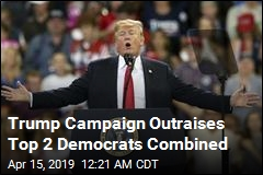 Trump Campaign Outraises Top 2 Democrats Combined