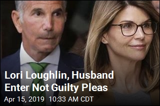 Lori Loughlin, Her Husband Plead Not Guilty