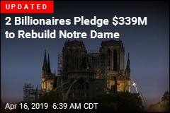 Salma Hayek's Husband Makes Huge Donation to Rebuild Notre Dame