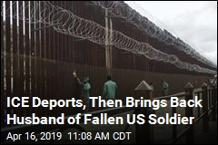 ICE Deports, Then Brings Back Husband of Fallen US Soldier