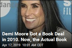 9 Years After Book Deal, Demi Moore Memoir Coming