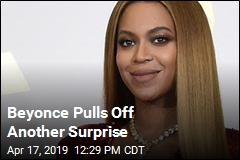 Beyonce Drops Surprise Live Album