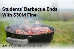 Students Fined $30M After Barbecue Starts Forest Fire
