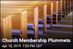 Church Membership Plummets