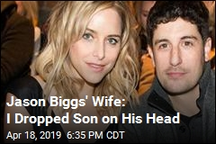 Jason Biggs' Wife: I Dropped Our Son, Fractured His Skull