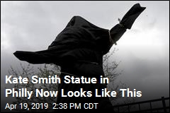Kate Smith Statue in Philly Now Looks Like This