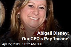 Abigail Disney: Bob Iger's Pay 'Insane'