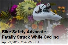 Bike Safety Advocate Fatally Struck While Cycling