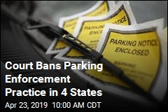 Court Bans Parking Enforcement Practice in 4 States