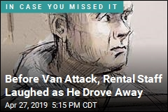 Before Van Attack, He Didn't Know How to Put It in Drive