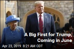 A Big First for Trump, Coming in June