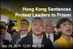 Hong Kong Sentences Pro-Democracy Protesters