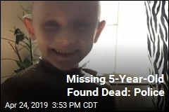 Missing 5-Year-Old Found Dead: Police