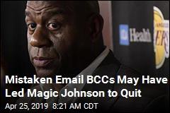 Mistaken Email BCCs May Have Led Magic Johnson to Quit