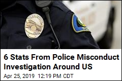 6 Stats From Police Misconduct Investigation Around US