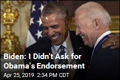Biden: I Asked Obama Not to Endorse Me