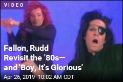 Fallon, Rudd Revisit the '80s— and 'Boy, It's Glorious'