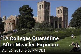 LA Colleges Quarantine After Measles Exposure